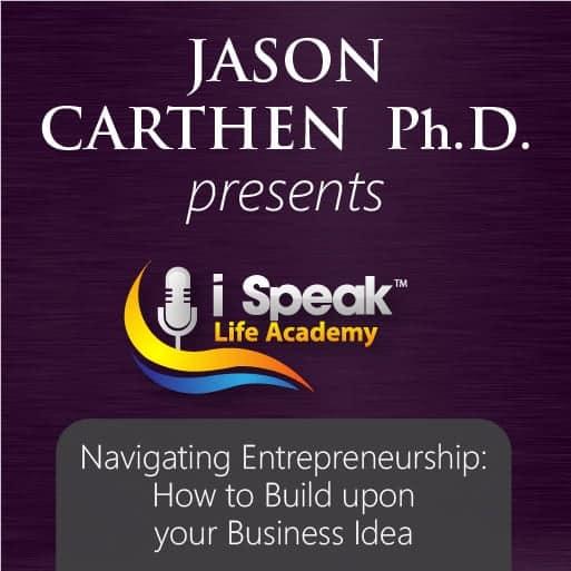 Dr. Jason Carthen: Navigating Entreprenuership