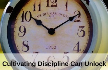 Dr. Jason Carthen: Cultivate Discipline to get more Opportunities