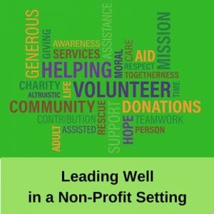 Dr. Jason Carthen: Leading Well in a Non-Profit Setting