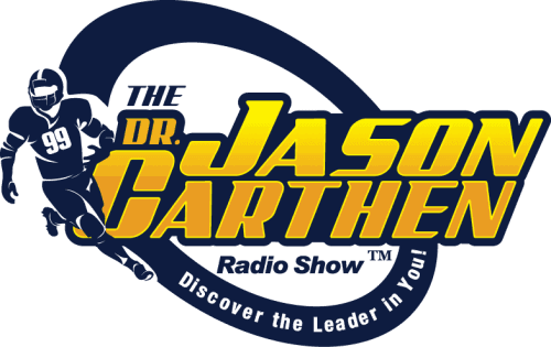Dr. Jason Carthen: The Discover the Leader in You Radio Show Logo