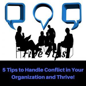 Dr. Jason Carthen: Five Tips to Handle Conflict