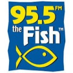 95.5 The Fish Logo