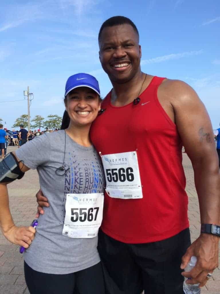 Dr. Jason Carthen & Mireidy Carthen: Marathon Runners