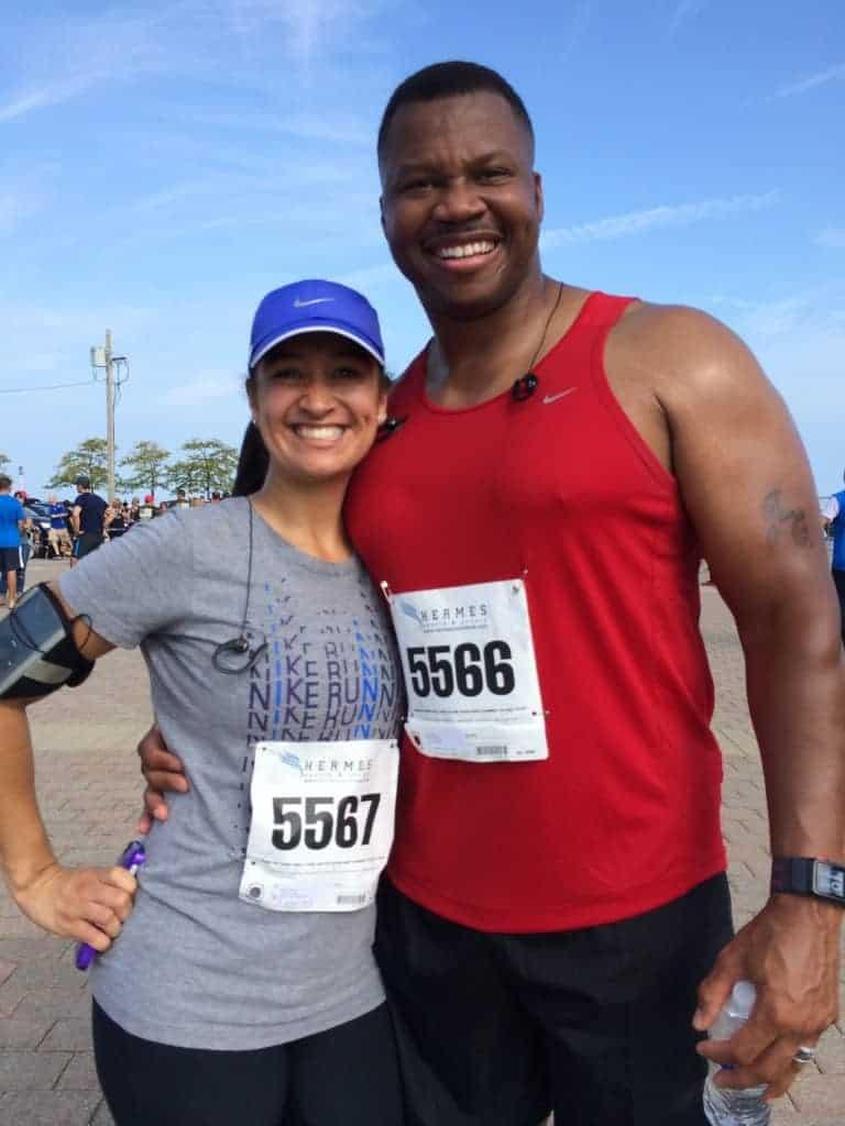 Dr. Jason Carthen & Mireidy Carthen: Marathon Runners
