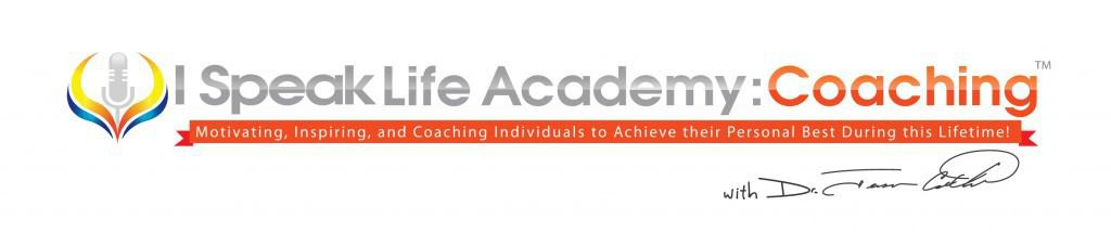 I Speak Life Academy Coaching Logo (Orange)