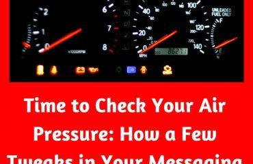 Dr. Jason Carthen: Time to Check Your Air Pressure