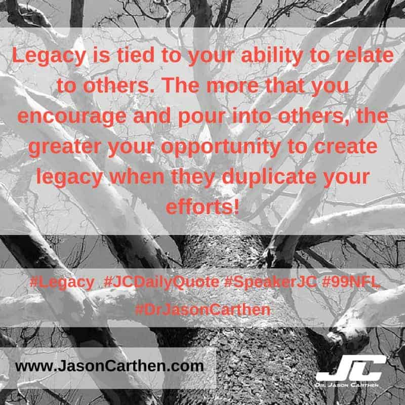 Dr. Jason Carthen: Legacy
