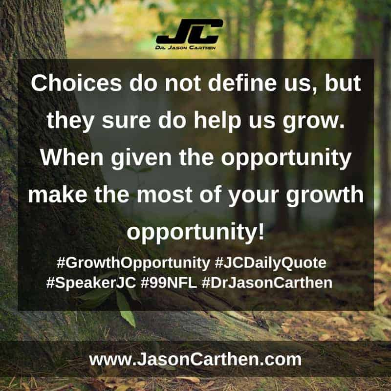 Dr. Jason Carthen: Growth Opportunity