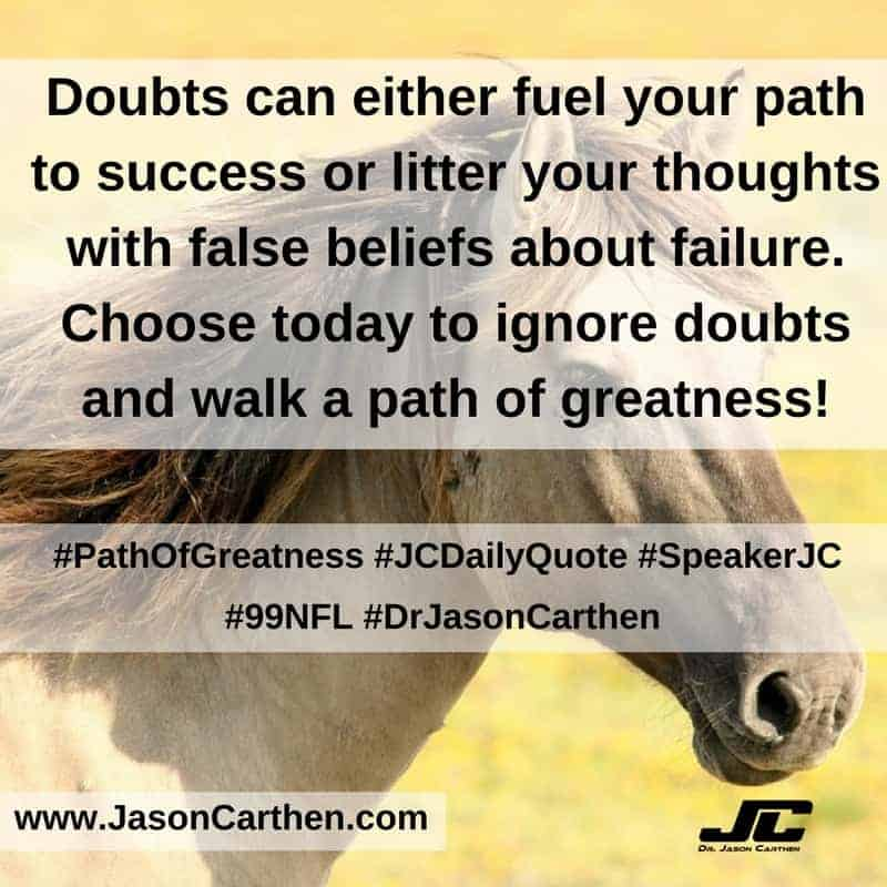 Dr. Jason Carthen: Path of Greatness