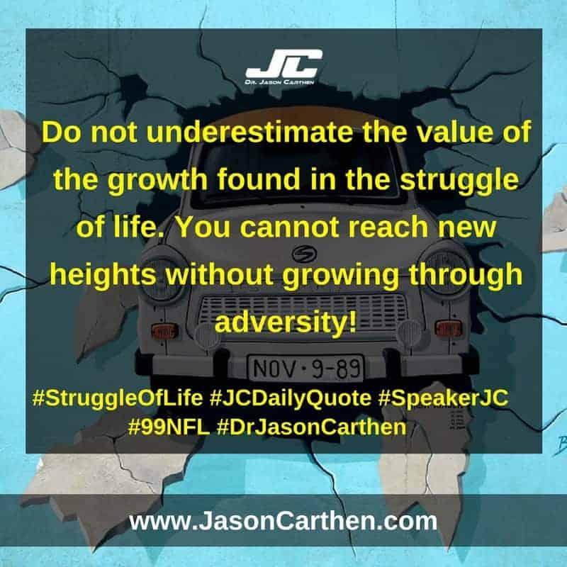 Dr. Jason Carthen: Struggle of Life