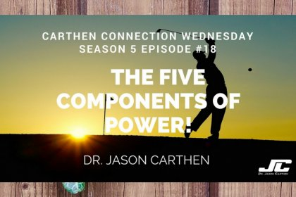 Dr. Jason Carthen: The Five Components of Power