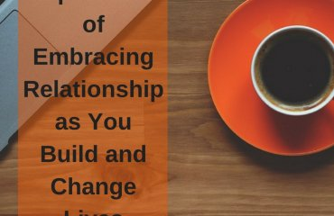 Dr. Jason Carthen: Importance of Embracing Relationship