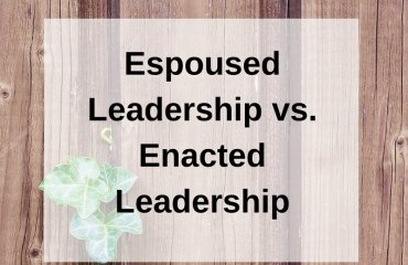 Dr. Jason Carthen: Espoused Leadership vs. Enacted Leadership