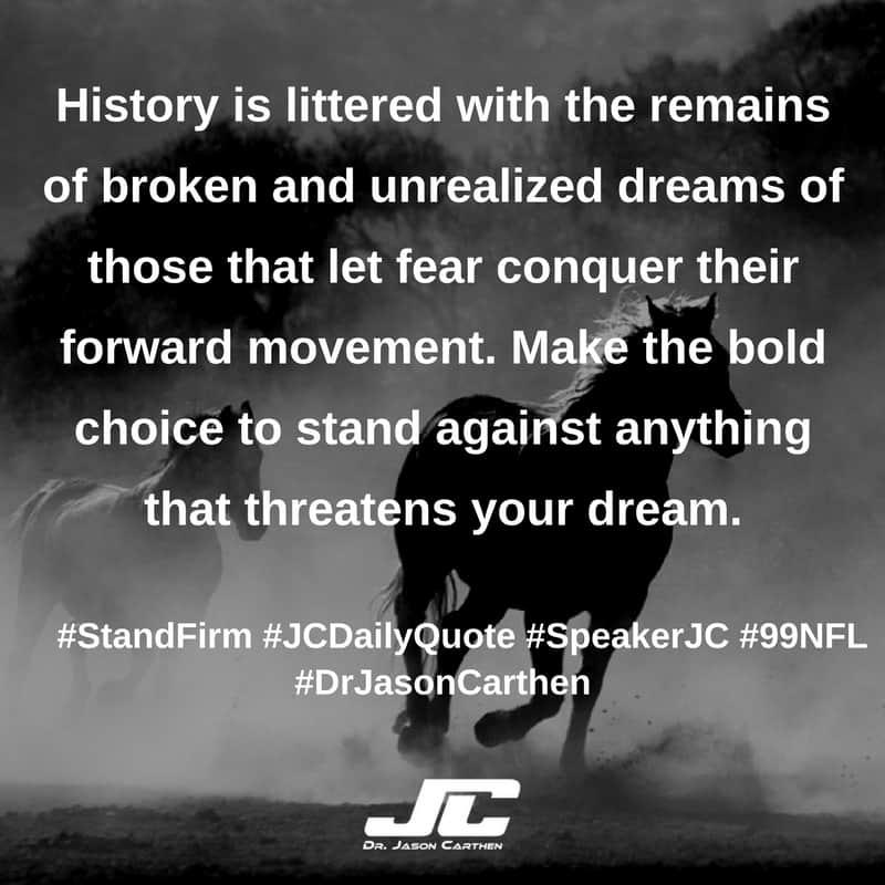 Dr. Jason Carthen: Stand Firm