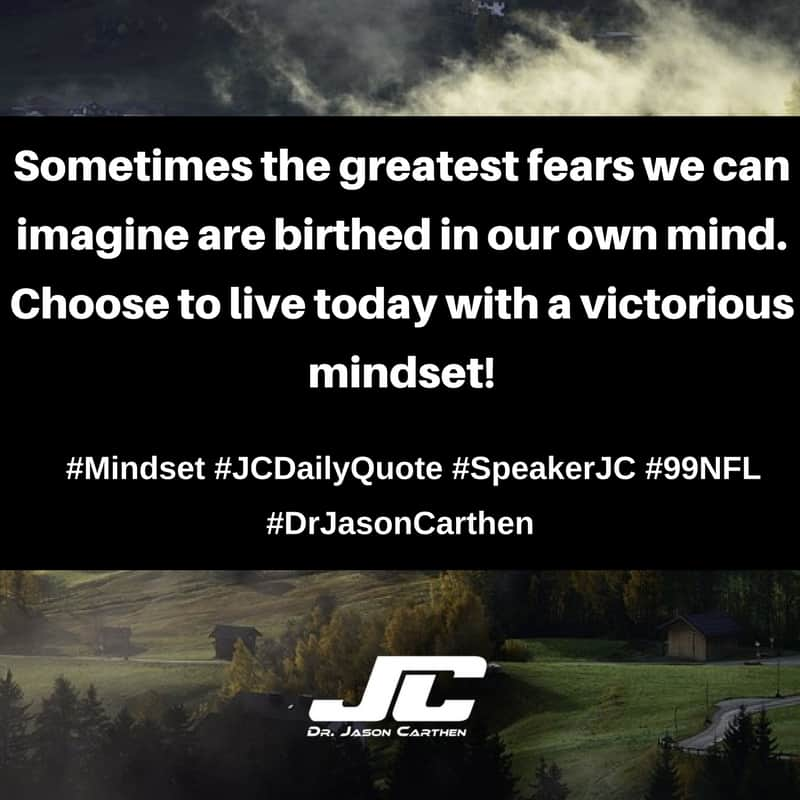 Dr. Jason Carthen: Mindset
