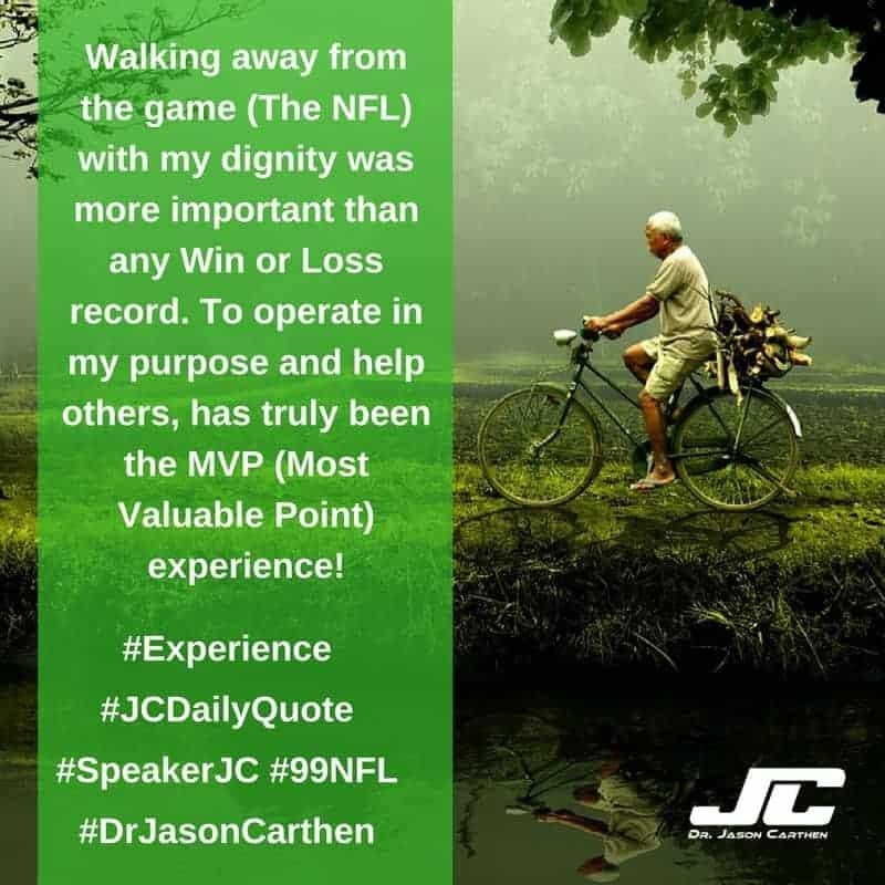 Dr. Jason Carthen: Experience