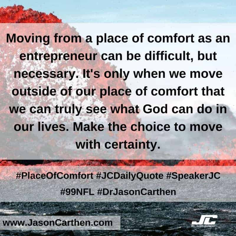 Dr. Jason Carthen: Place of Comfort
