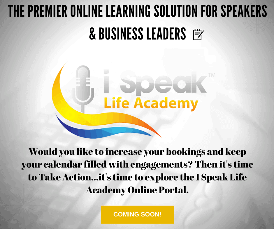 Dr. Jason Carthen: I Speak Life Academy Online Portal