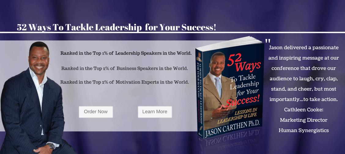 Dr. Jason Carthen: 52 Ways Book
