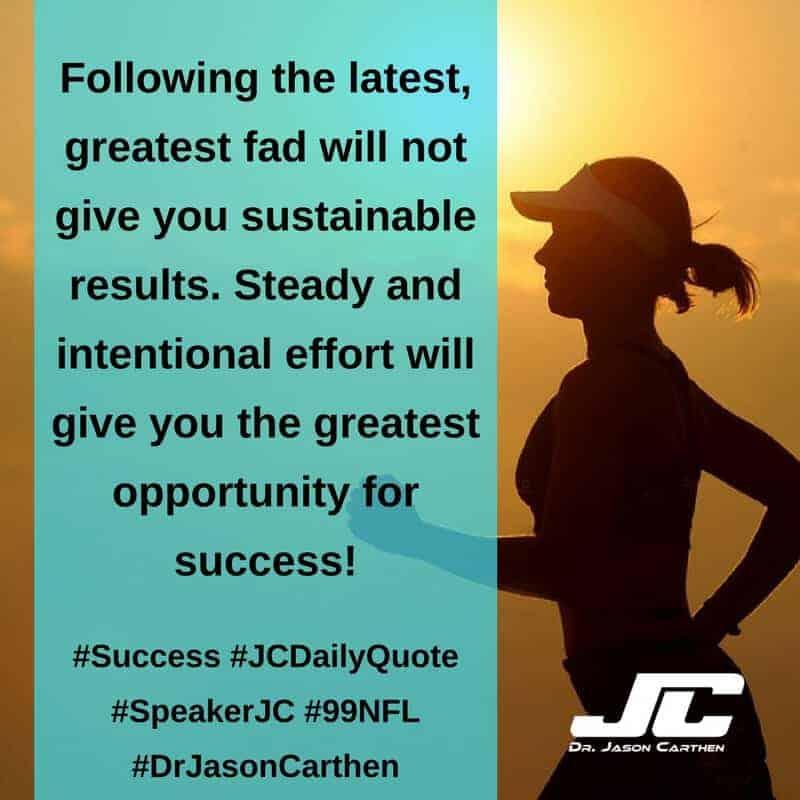 Dr. Jason Carthen: Success