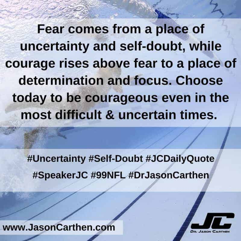 Dr. Jason Carthen: Uncertainty and Self-Doubt