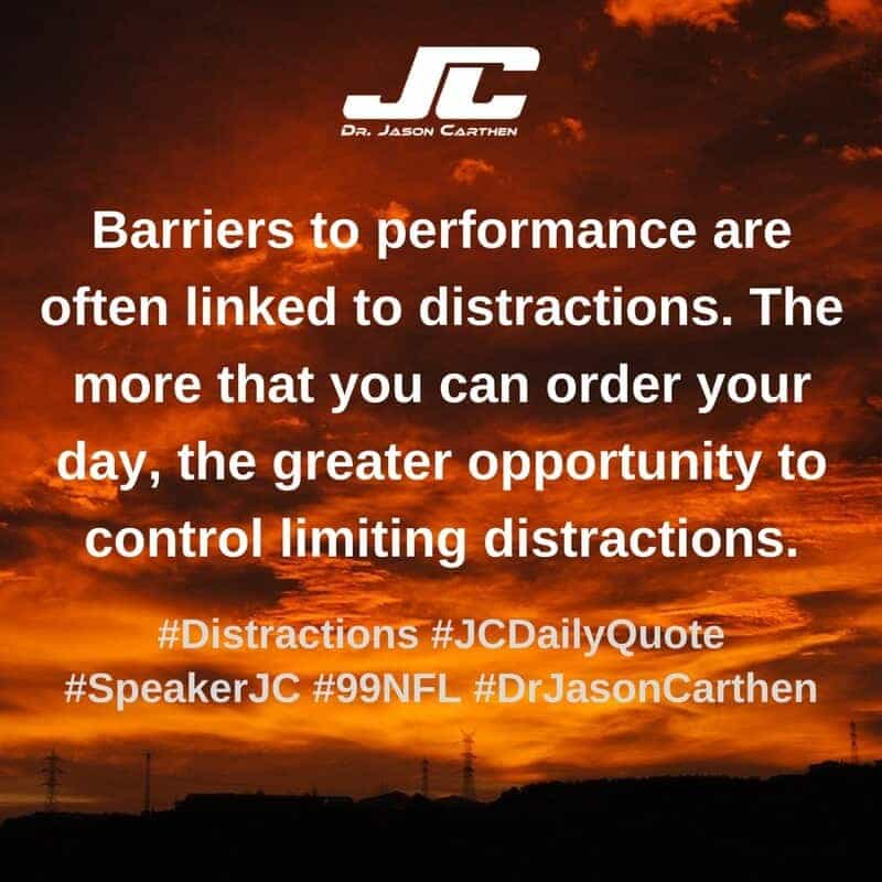 Dr. Jason Carthen: Distractions