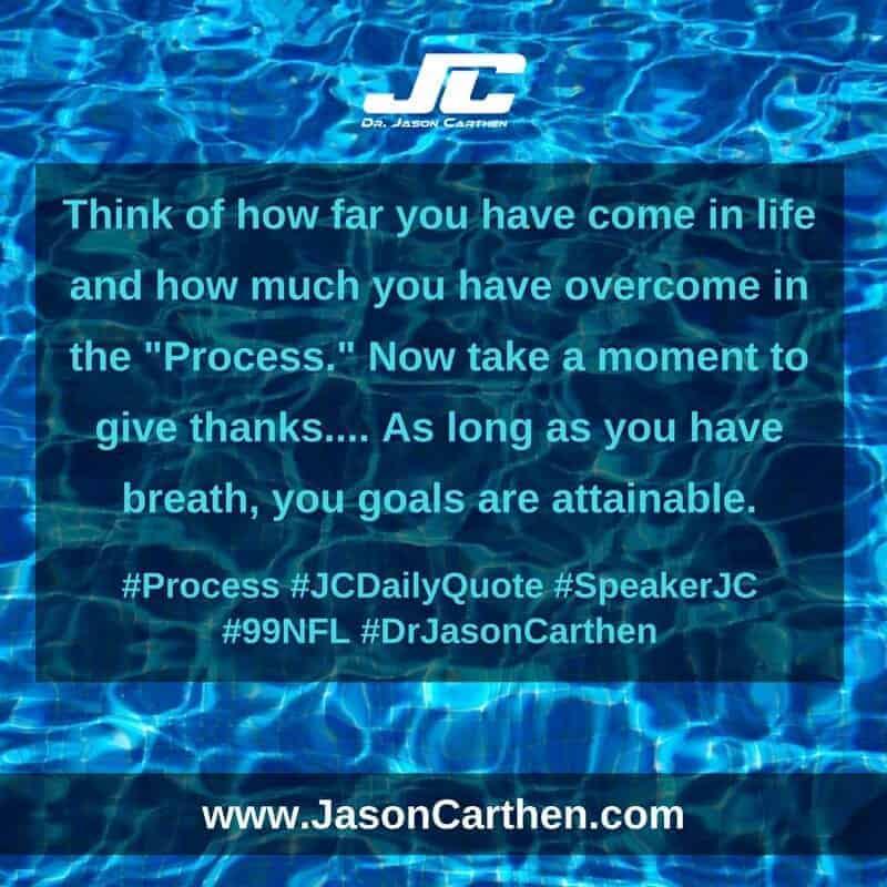 Dr. Jason Carthen: Process