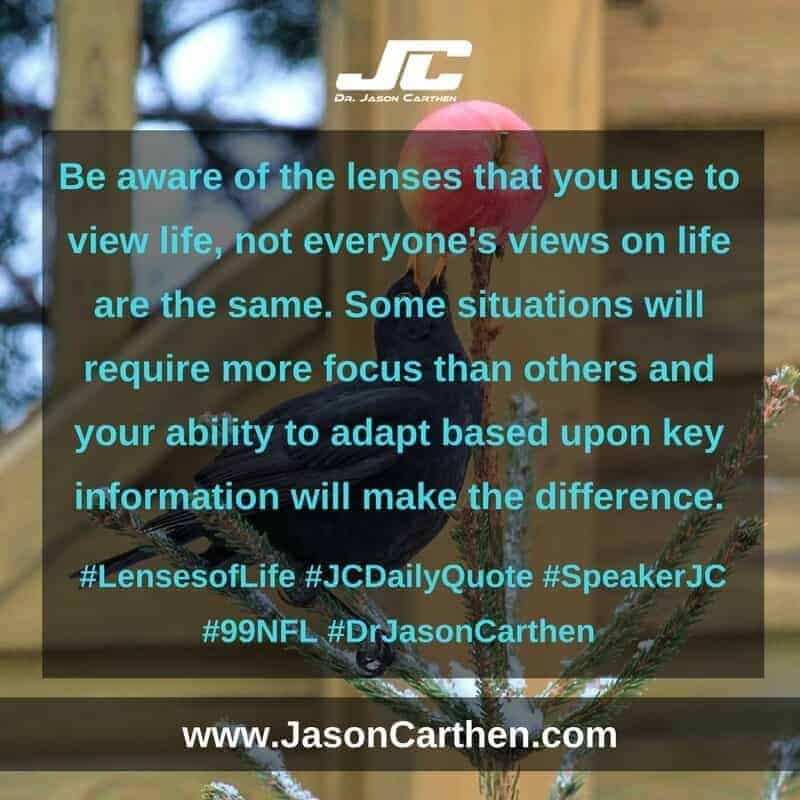 Dr. Jason Carthen: Lenses of Life