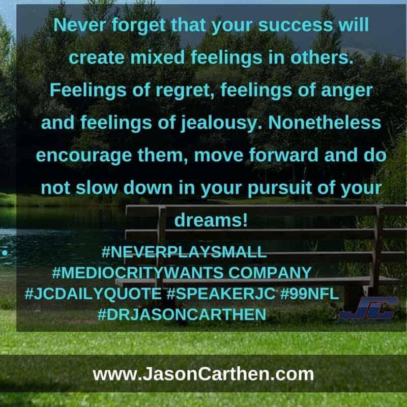 Dr. Jason Carthen: Never Play Small