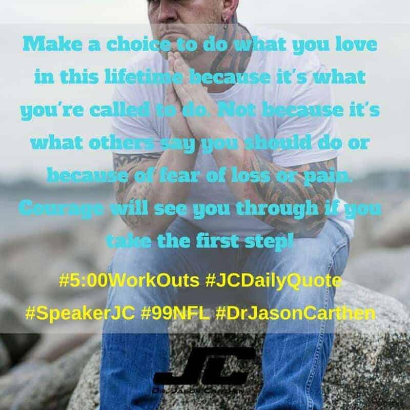 Dr. Jason Carthen: 5:00 WorkOuts