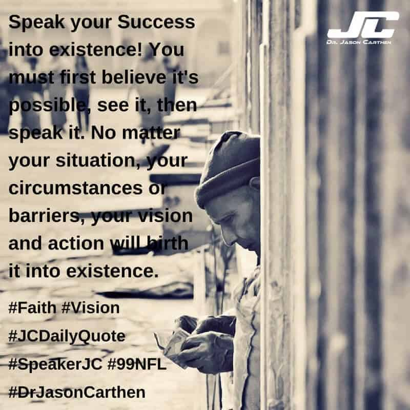 Dr. Jason Carthen: Faith and Vision