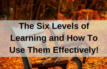 Dr. Jason Carthen: Six Levels of Learning and How to Use Them Effectively