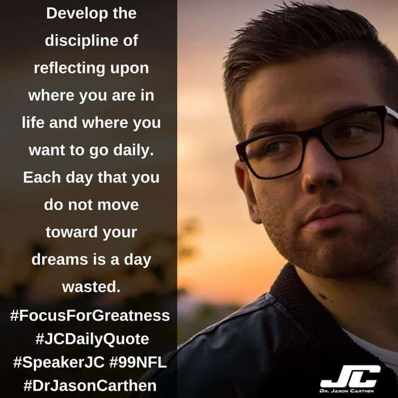 Dr. Jason Carthen: Focus for Greatness