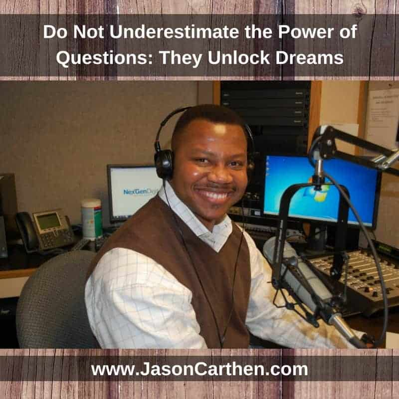 Dr. Jason Carthen: Do not underestimate the power of questions radio interview