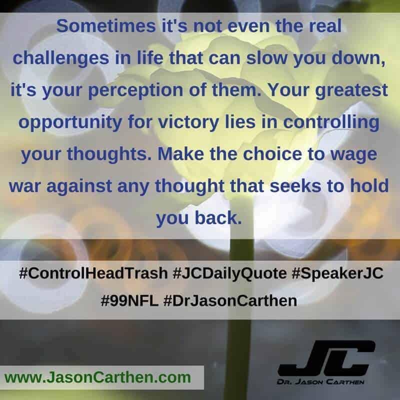 Dr. Jason Carthen: ControlHeadTrash