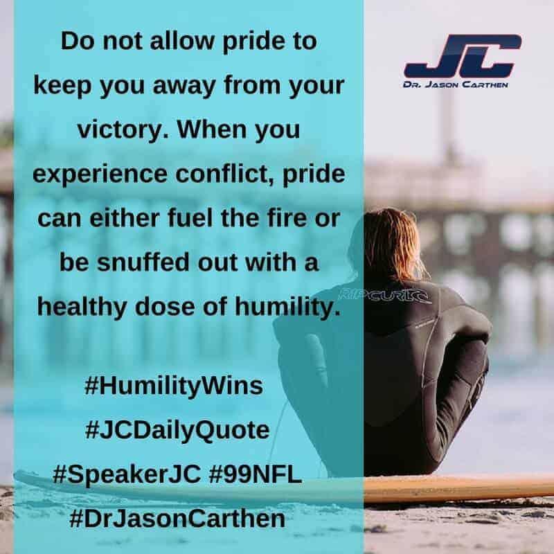 Dr. Jason Carthen: HumilityWins