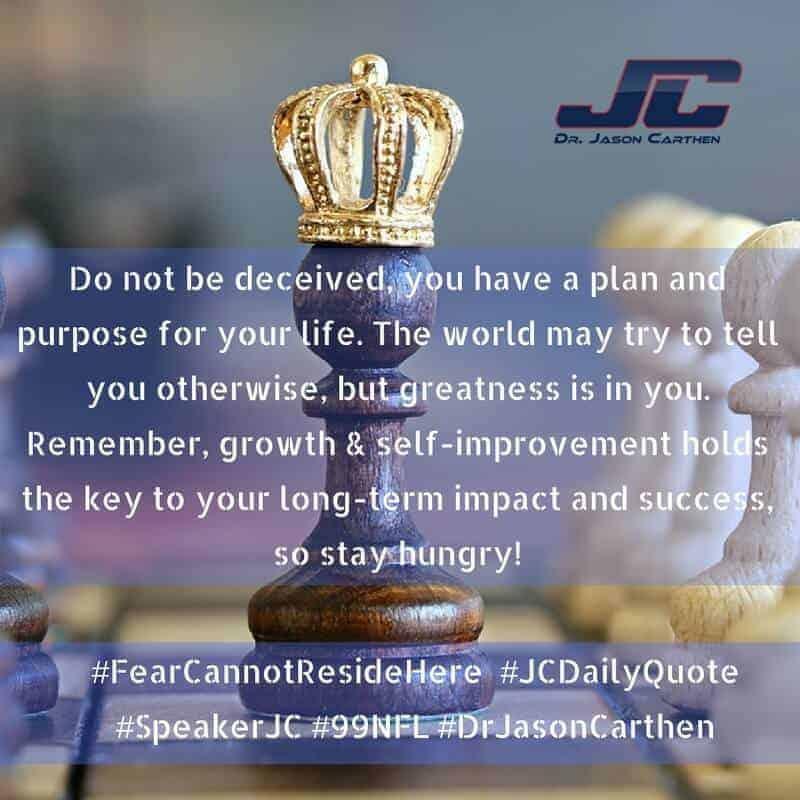 Dr. Jason Carthen: Fear Cannot Reside Here