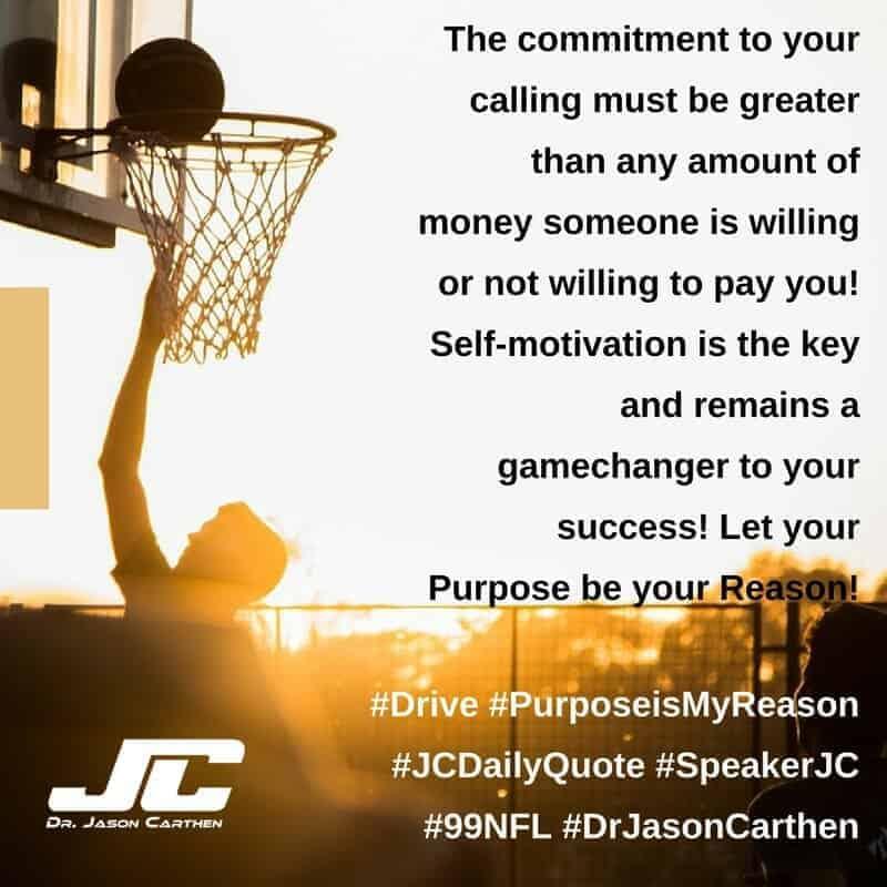 Dr. Jason Carthen: Purpose in My Reason