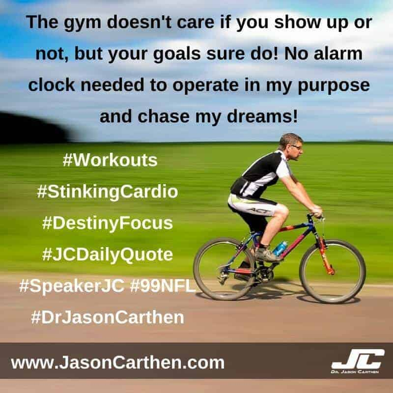 Dr. Jason Carthen: Workouts