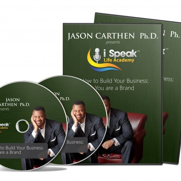 Dr. Jason Carthen: How to Build your Business When You Are the Brand DVD