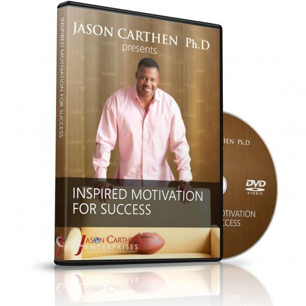 Dr. Jason Carthen Inspired Motivation for Your Success DVD
