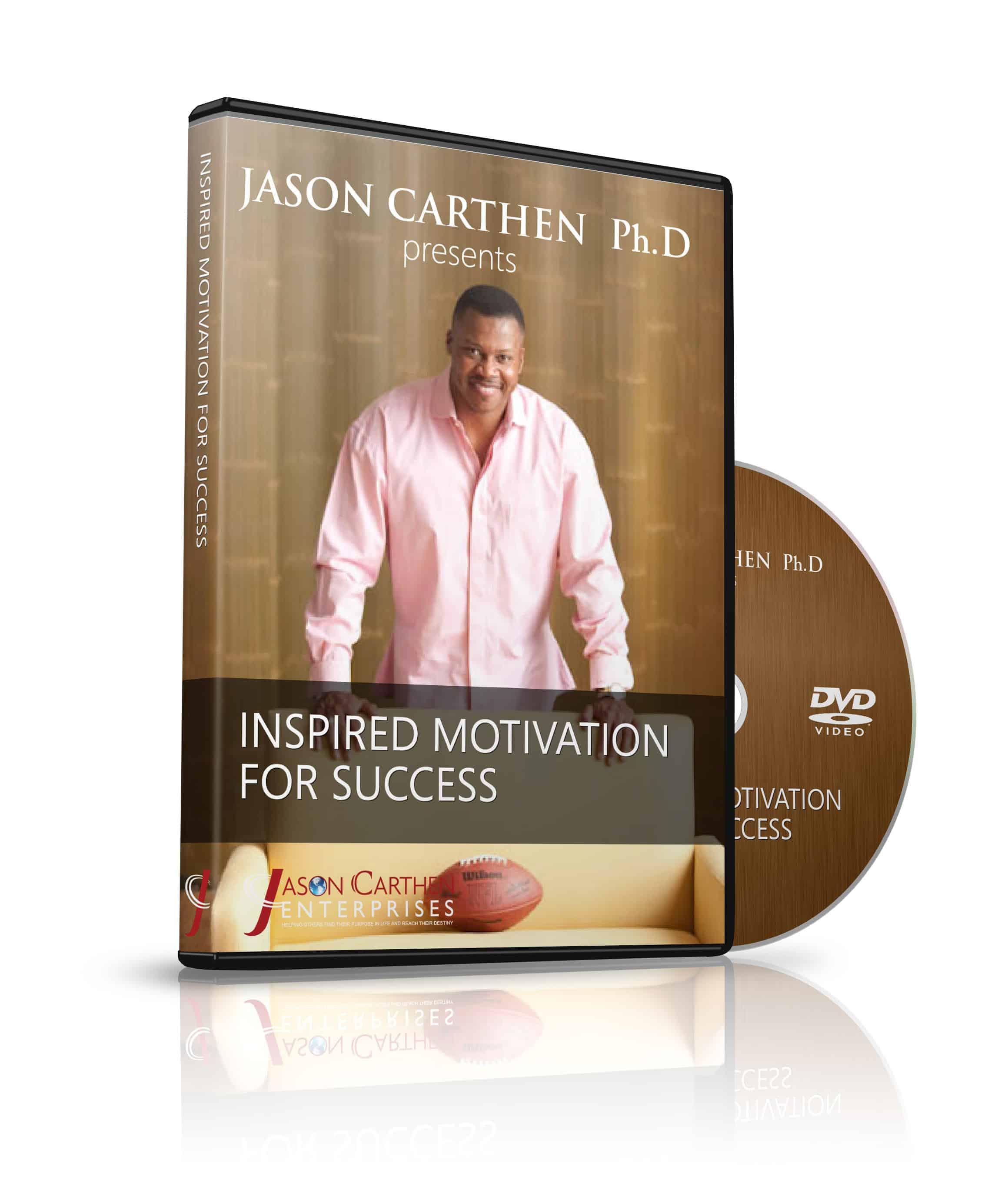 Dr. Jason Carthen Inspired Motivation for Your Success DVD