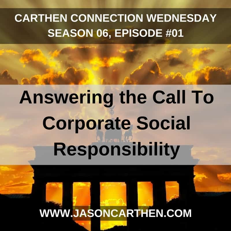 Dr. Jason Carthen: Answering the Call To Corporate Social Responsibility