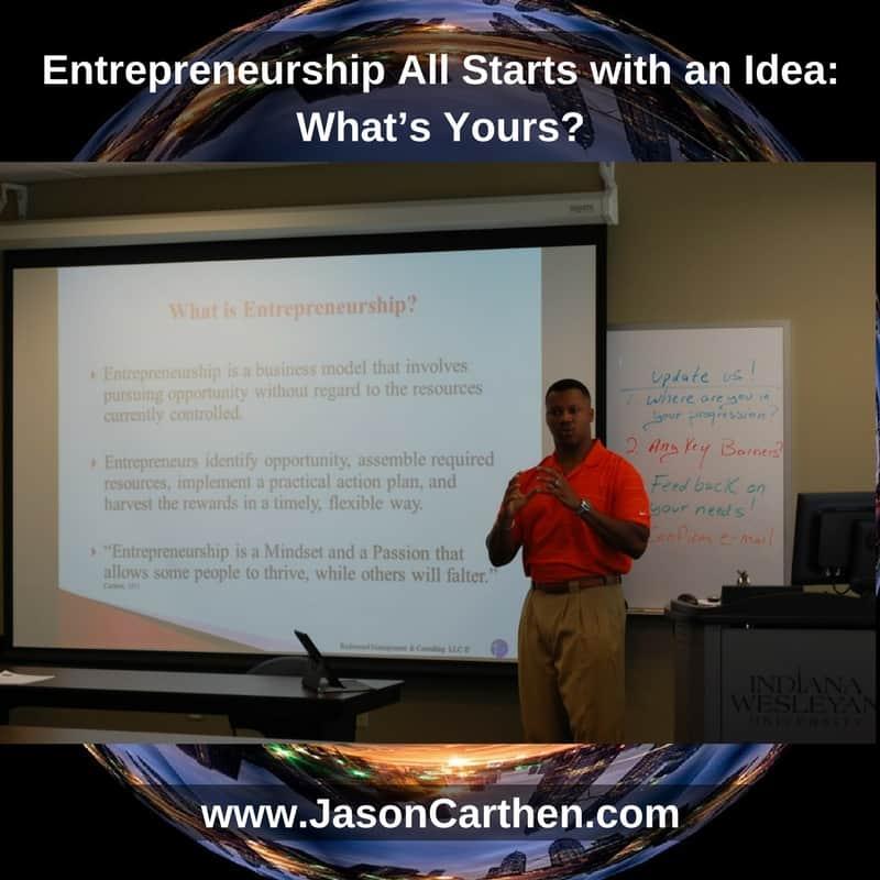 Dr. Jason Carthen: I Speak Life WorkShops
