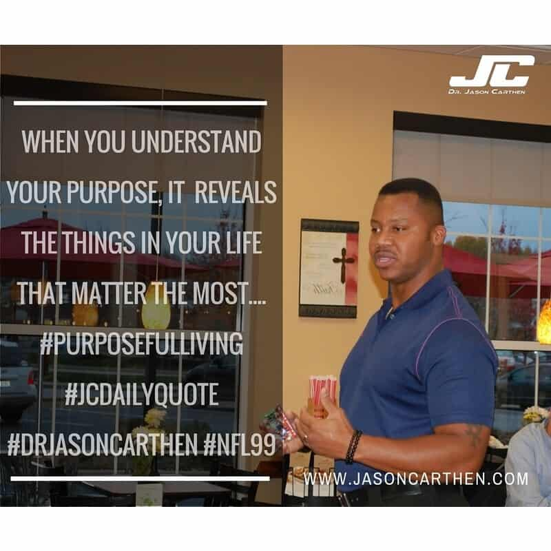 Dr. Jason Carthen: Purpose