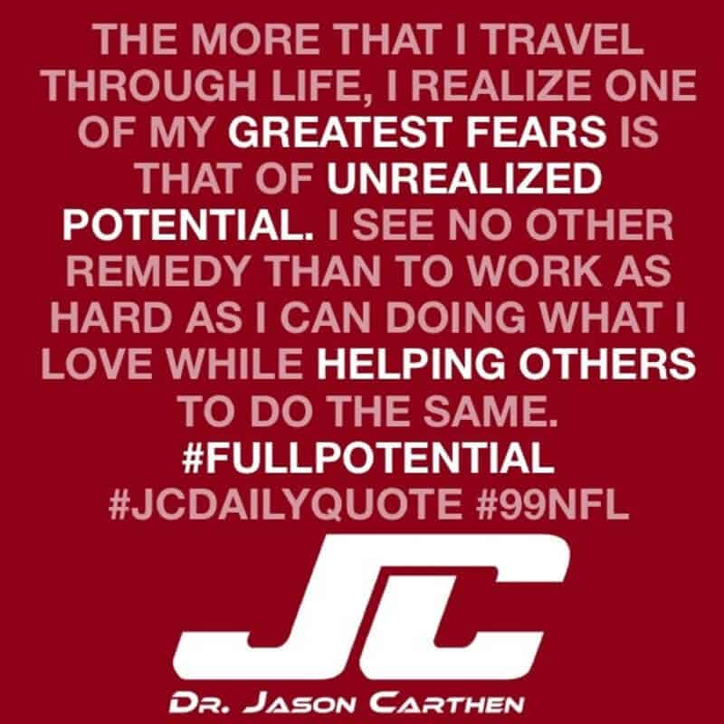Dr. Jason Carthen Daily Quotes