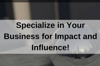 Dr. Jason Carthen: Specialize in Your Business for Impact and Influence