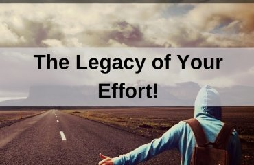 Dr. Jason Carthen: The Legacy of Your Effort