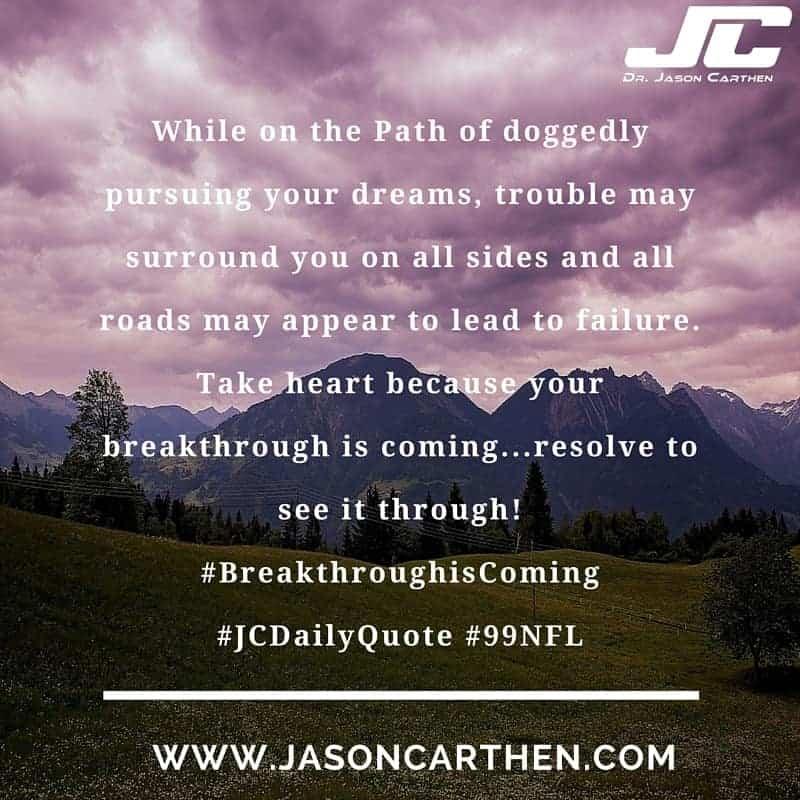 Dr. Jason's Quote