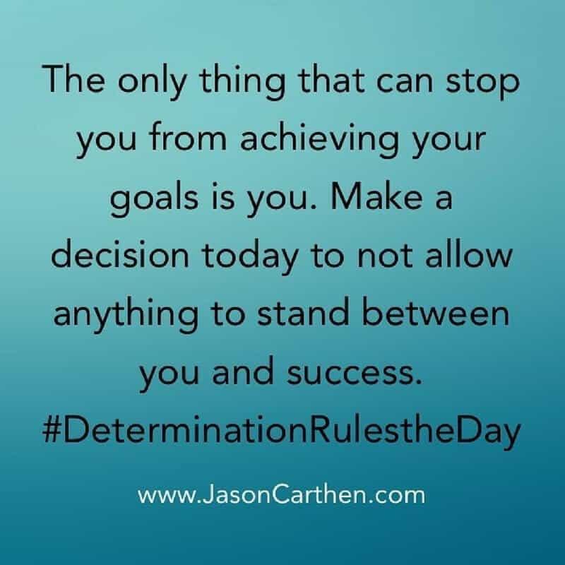 Dr. Jason Carthen: Goals
